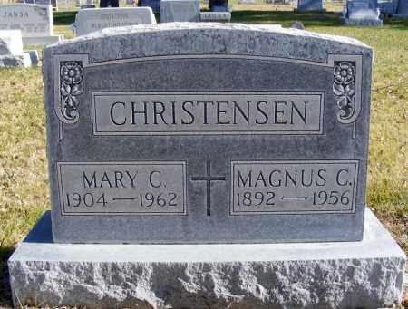 CHRISTENSEN, MARY C. - Box Butte County, Nebraska | MARY C. CHRISTENSEN - Nebraska Gravestone Photos