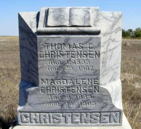 CHRISTENSEN, THOMAS C. - Box Butte County, Nebraska | THOMAS C. CHRISTENSEN - Nebraska Gravestone Photos