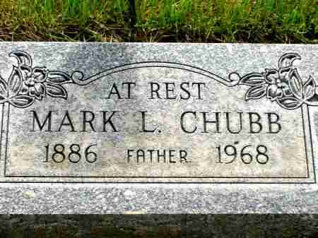 CHUBB, MARK L. - Box Butte County, Nebraska | MARK L. CHUBB - Nebraska Gravestone Photos