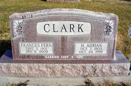 EATON CLARK, FRANCES FERN - Box Butte County, Nebraska | FRANCES FERN EATON CLARK - Nebraska Gravestone Photos