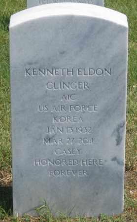 CLINGER, KENNETH  ELDON - Box Butte County, Nebraska | KENNETH  ELDON CLINGER - Nebraska Gravestone Photos