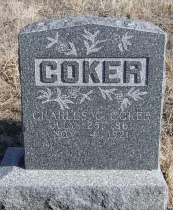 COKER, CHARLES C. - Box Butte County, Nebraska   CHARLES C. COKER - Nebraska Gravestone Photos