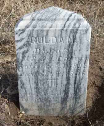 COKER, GOLDA M. - Box Butte County, Nebraska | GOLDA M. COKER - Nebraska Gravestone Photos