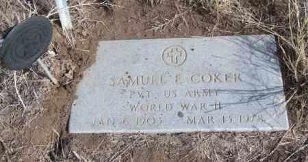 COKER, SAMUEL - Box Butte County, Nebraska | SAMUEL COKER - Nebraska Gravestone Photos