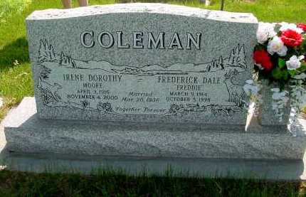COLEMAN, IRENE DOROTHY - Box Butte County, Nebraska   IRENE DOROTHY COLEMAN - Nebraska Gravestone Photos