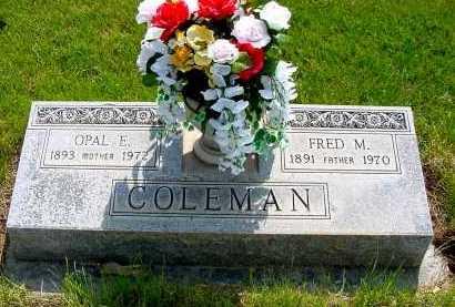 COLEMAN, OPAL E. - Box Butte County, Nebraska | OPAL E. COLEMAN - Nebraska Gravestone Photos