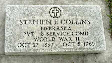 COLLINS, STEPHEN E. - Box Butte County, Nebraska | STEPHEN E. COLLINS - Nebraska Gravestone Photos