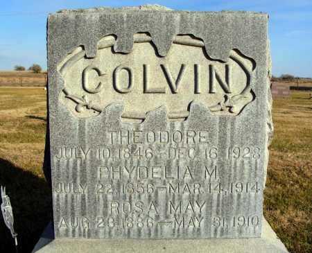 COLVIN, PHYDELIA M. - Box Butte County, Nebraska | PHYDELIA M. COLVIN - Nebraska Gravestone Photos