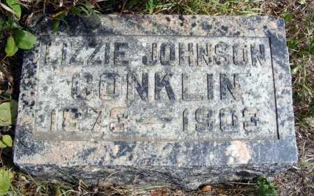 JOHNSON CONKLIN, LIZZIE - Box Butte County, Nebraska | LIZZIE JOHNSON CONKLIN - Nebraska Gravestone Photos