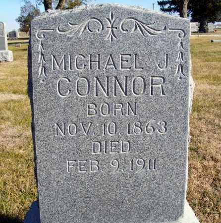 CONNOR, MICHAEL J. - Box Butte County, Nebraska   MICHAEL J. CONNOR - Nebraska Gravestone Photos
