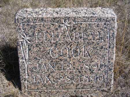 COOK, ELIZABETH - Box Butte County, Nebraska | ELIZABETH COOK - Nebraska Gravestone Photos