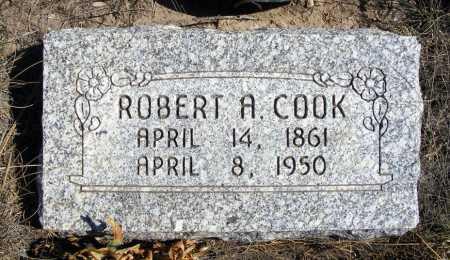 COOK, ROBERT A. - Box Butte County, Nebraska | ROBERT A. COOK - Nebraska Gravestone Photos