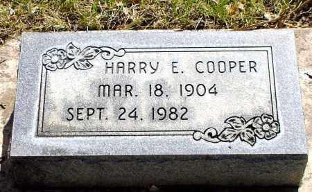COOPER, HARRY E. - Box Butte County, Nebraska | HARRY E. COOPER - Nebraska Gravestone Photos