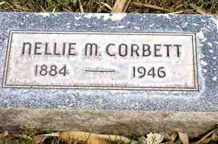 CORBETT, NELLIE M. - Box Butte County, Nebraska | NELLIE M. CORBETT - Nebraska Gravestone Photos