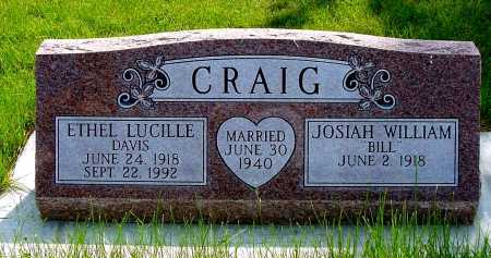 "CRAIG, JOSIAH WILLIAM ""BILL"" - Box Butte County, Nebraska | JOSIAH WILLIAM ""BILL"" CRAIG - Nebraska Gravestone Photos"
