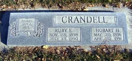 HARRISON CRANDELL, RUBY E. - Box Butte County, Nebraska | RUBY E. HARRISON CRANDELL - Nebraska Gravestone Photos