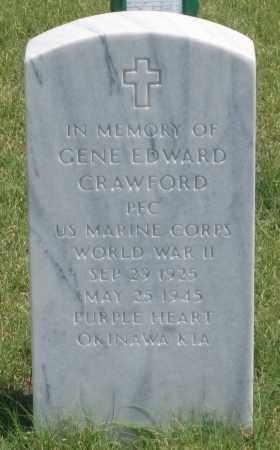 CRAWFORD, GENE  EDWARD - Box Butte County, Nebraska | GENE  EDWARD CRAWFORD - Nebraska Gravestone Photos