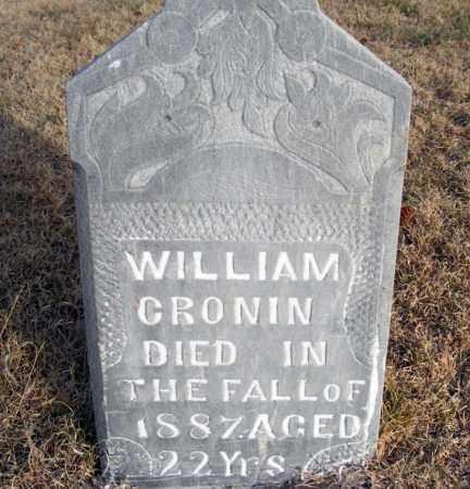 CRONIN, WILLIAM - Box Butte County, Nebraska   WILLIAM CRONIN - Nebraska Gravestone Photos