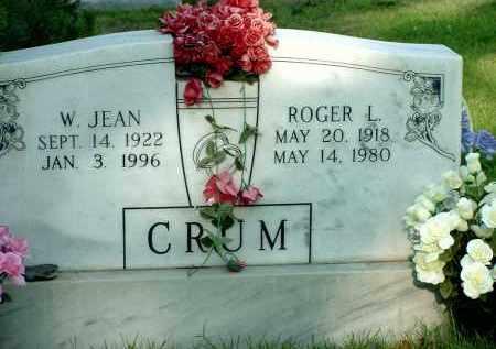 ABBOTT CRUM, W. JEAN - Box Butte County, Nebraska | W. JEAN ABBOTT CRUM - Nebraska Gravestone Photos