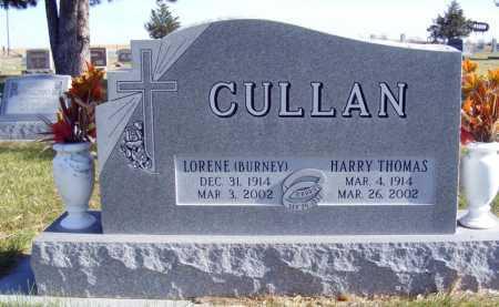 BURNEY CULLAN, LORENE - Box Butte County, Nebraska | LORENE BURNEY CULLAN - Nebraska Gravestone Photos
