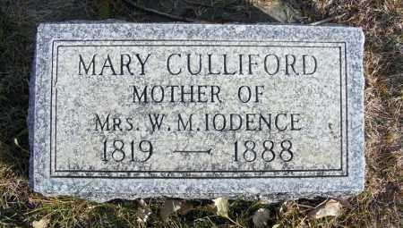CULLIFORD, MARY - Box Butte County, Nebraska | MARY CULLIFORD - Nebraska Gravestone Photos