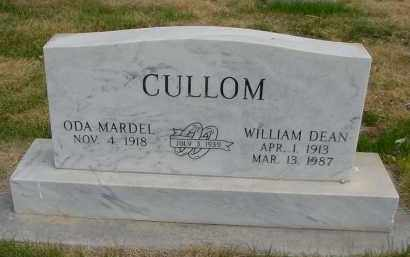 CULLOM, WILLIAM DEAN - Box Butte County, Nebraska | WILLIAM DEAN CULLOM - Nebraska Gravestone Photos