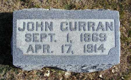CURRAN, JOHN - Box Butte County, Nebraska | JOHN CURRAN - Nebraska Gravestone Photos