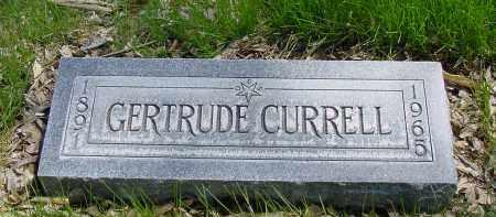 CURRELL, GERTRUDE - Box Butte County, Nebraska   GERTRUDE CURRELL - Nebraska Gravestone Photos