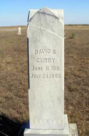 CURRY, DAVID B. - Box Butte County, Nebraska | DAVID B. CURRY - Nebraska Gravestone Photos