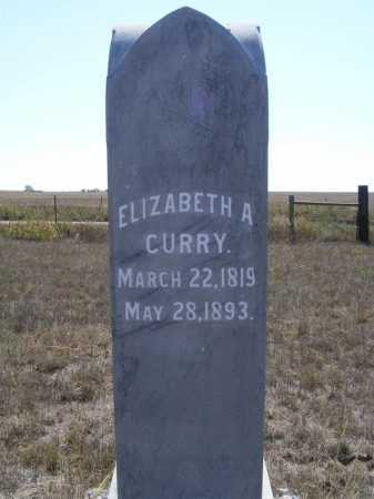 CURRY, ELIZABETH A. - Box Butte County, Nebraska | ELIZABETH A. CURRY - Nebraska Gravestone Photos