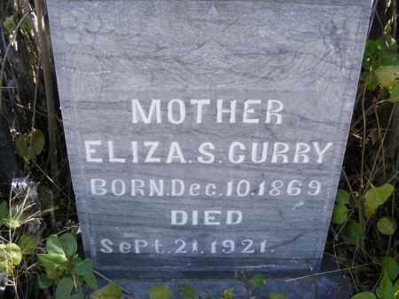 HOKE CURRY, ELIZA S. - Box Butte County, Nebraska   ELIZA S. HOKE CURRY - Nebraska Gravestone Photos