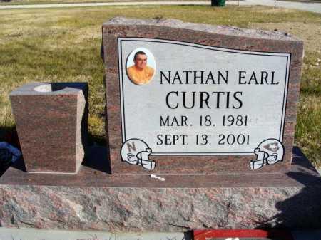 CURTIS, NATHAN EARL - Box Butte County, Nebraska | NATHAN EARL CURTIS - Nebraska Gravestone Photos
