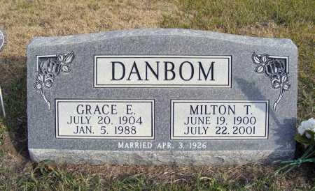 DANBOM, GRACE E. - Box Butte County, Nebraska | GRACE E. DANBOM - Nebraska Gravestone Photos