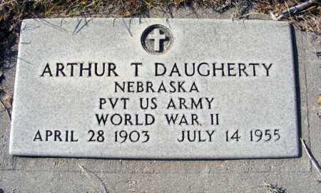 DAUGHERTY, ARTHUR T. - Box Butte County, Nebraska | ARTHUR T. DAUGHERTY - Nebraska Gravestone Photos