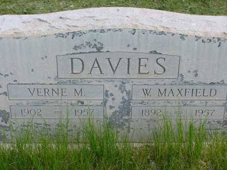 DAVIES, W. MAXFIELD - Box Butte County, Nebraska | W. MAXFIELD DAVIES - Nebraska Gravestone Photos