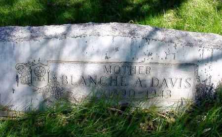 DAVIS, BLANCHE A. - Box Butte County, Nebraska | BLANCHE A. DAVIS - Nebraska Gravestone Photos