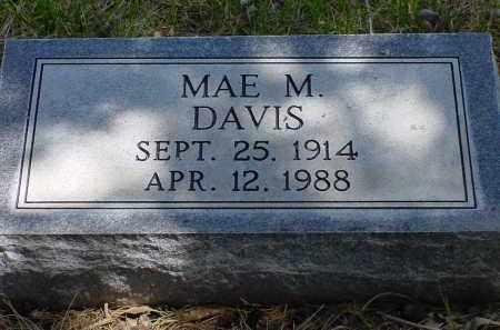 DAVIS, MAE M. - Box Butte County, Nebraska | MAE M. DAVIS - Nebraska Gravestone Photos