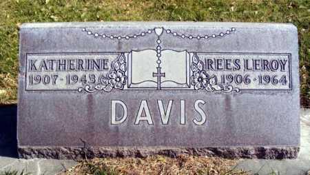 DAVIS, REES LEROY - Box Butte County, Nebraska | REES LEROY DAVIS - Nebraska Gravestone Photos