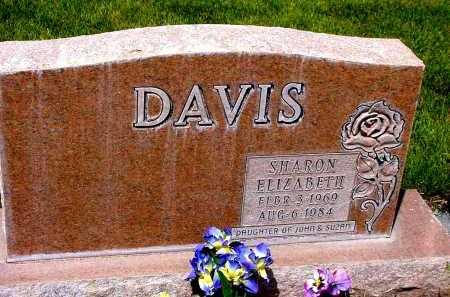DAVIS, SHARON ELIZABETH - Box Butte County, Nebraska   SHARON ELIZABETH DAVIS - Nebraska Gravestone Photos