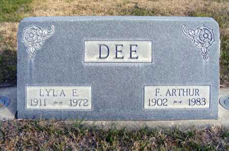 DEE, LYLA E. - Box Butte County, Nebraska | LYLA E. DEE - Nebraska Gravestone Photos