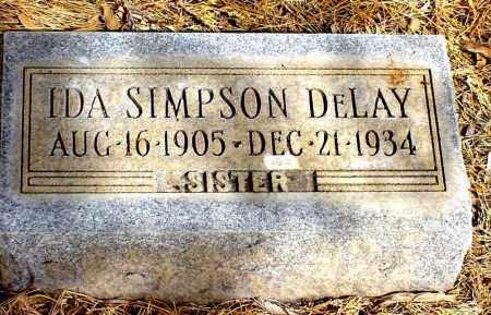 DELAY, IDA - Box Butte County, Nebraska | IDA DELAY - Nebraska Gravestone Photos