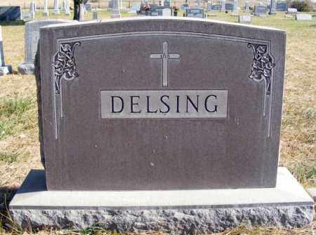 DELSING, FAMILY - Box Butte County, Nebraska | FAMILY DELSING - Nebraska Gravestone Photos