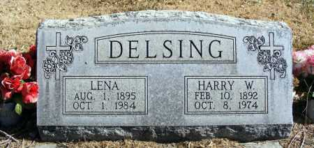 DELSING, LENA - Box Butte County, Nebraska | LENA DELSING - Nebraska Gravestone Photos