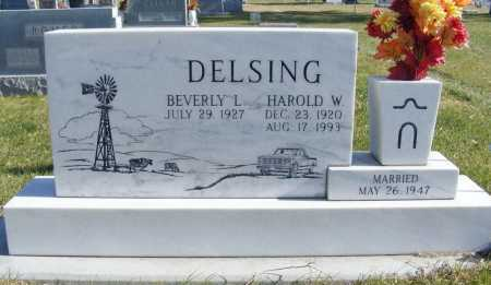 SWANSON DELSING, BEVERLY L. - Box Butte County, Nebraska | BEVERLY L. SWANSON DELSING - Nebraska Gravestone Photos