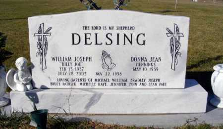 "DELSING, WILLIAM JOSEPH ""BILLY JOE"" - Box Butte County, Nebraska 