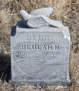 DERR, BEULAH M. - Box Butte County, Nebraska | BEULAH M. DERR - Nebraska Gravestone Photos
