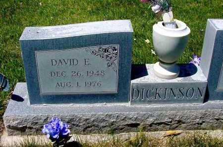 DICKINSON, DAVID E. - Box Butte County, Nebraska | DAVID E. DICKINSON - Nebraska Gravestone Photos