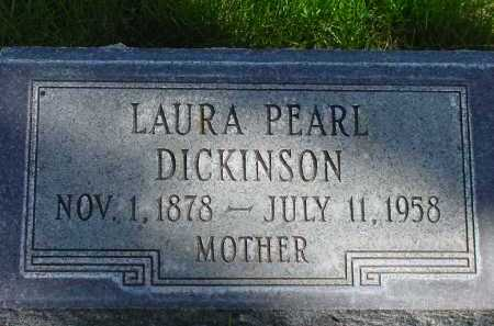 DICKINSON, LAURA PEARL - Box Butte County, Nebraska | LAURA PEARL DICKINSON - Nebraska Gravestone Photos