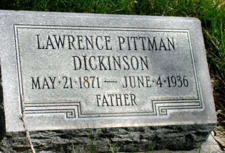DICKINSON, LAWRENCE PITTMAN - Box Butte County, Nebraska | LAWRENCE PITTMAN DICKINSON - Nebraska Gravestone Photos