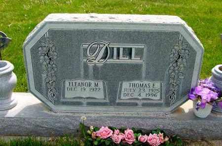 DILL, ELEANOR M. - Box Butte County, Nebraska | ELEANOR M. DILL - Nebraska Gravestone Photos